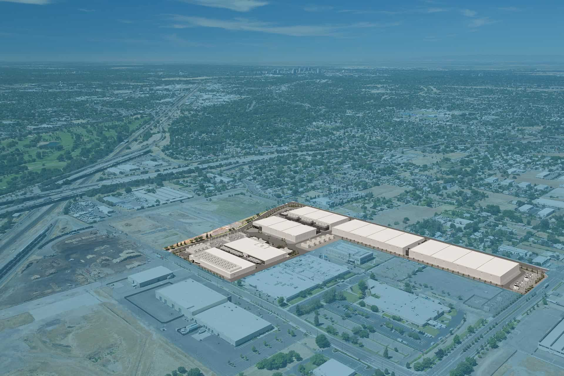 Sacramento Data Center-aerial